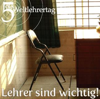 5. Okt - Weltlehrertag. Lehrer...