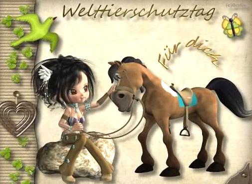 Welttierschutztag für...