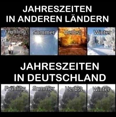 Jahreszeiten in anderen Ländern...